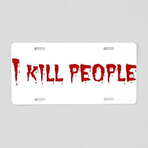 killpeople_dracula Aluminum License Plate