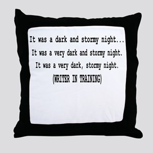 writerintraining Throw Pillow