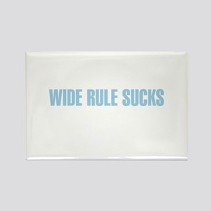 Wide Rule Sucks Rectangle Magnet