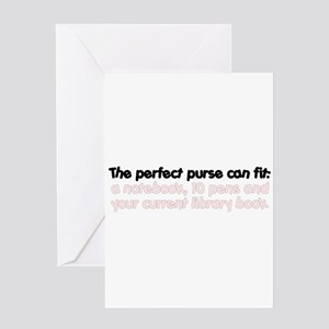 The perfect purse Greeting Card