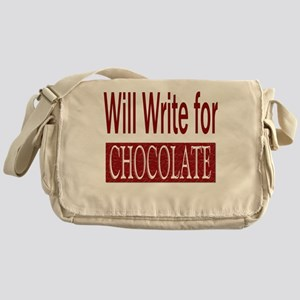 writeforchocolate Messenger Bag