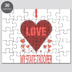 I LOVE MY STATE TROOPER Puzzle