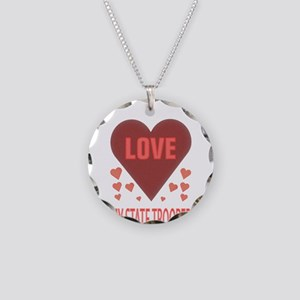 I LOVE MY STATE TROOPER Necklace Circle Charm