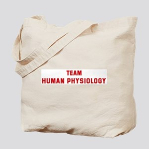 Team HUMAN PHYSIOLOGY Tote Bag