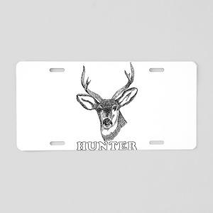 Deer Hunter Hunting Aluminum License Plate