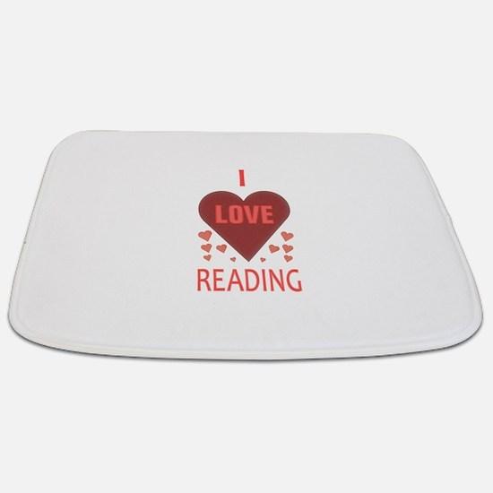 I LOVE READING Bathmat