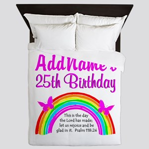 UPLIFTING 25TH Queen Duvet