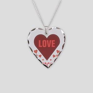 I LOVE COLORGUARD Necklace Heart Charm