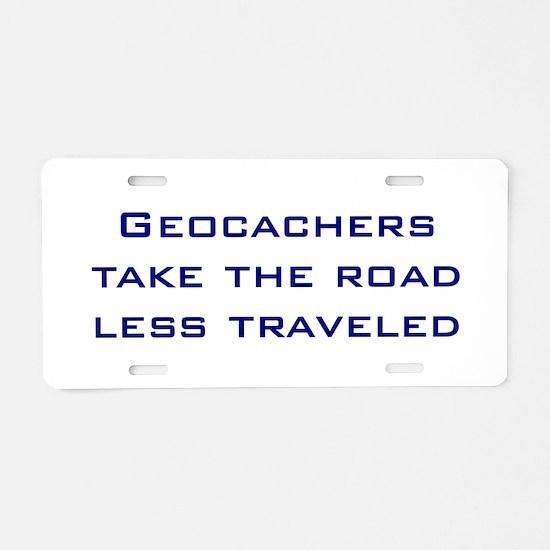 Geocachers take the road less traveled Aluminum Li