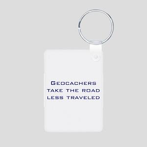 Geocachers take the road less traveled Aluminum Ph