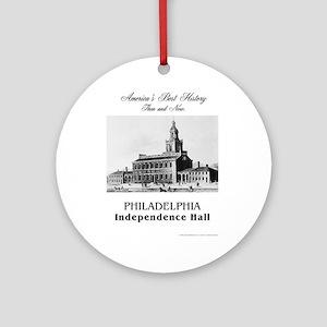 ABH Philadelphia Round Ornament
