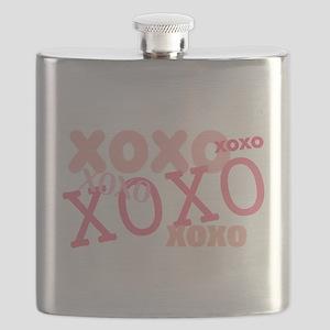 XOXO Hugs and Kisses Flask