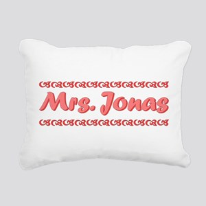 Mrs. Jonas Fan Rectangular Canvas Pillow
