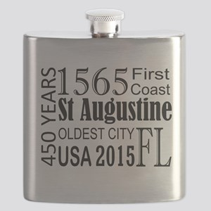 St Augustine 450 years Flask