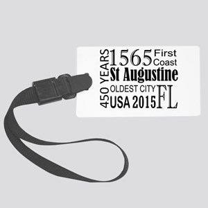 St Augustine 450 Years Large Luggage Tag