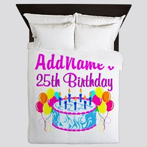 FABULOUS 25TH Queen Duvet