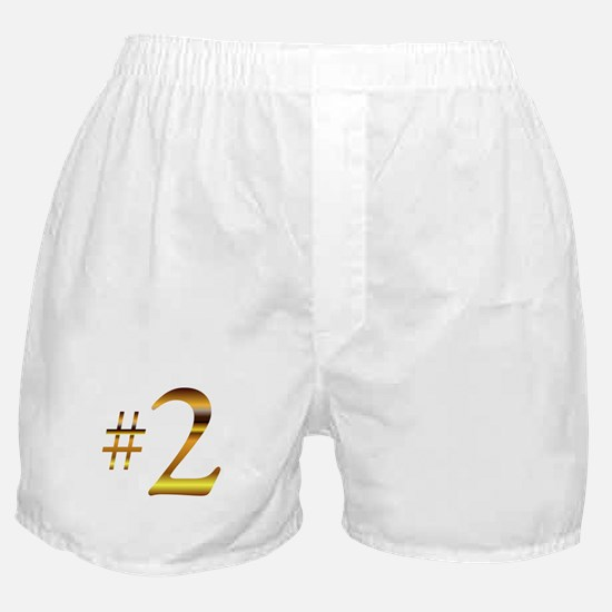 Number 2 Boxer Shorts