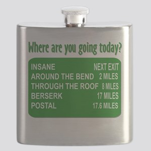 Where are you going today? Flask