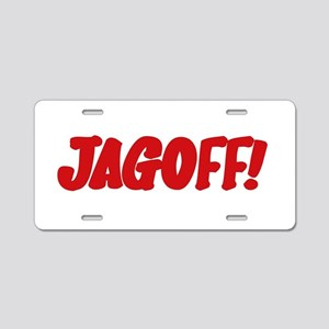 Jagoff! Aluminum License Plate