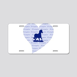 Lexington Kentucky Horse Aluminum License Plate