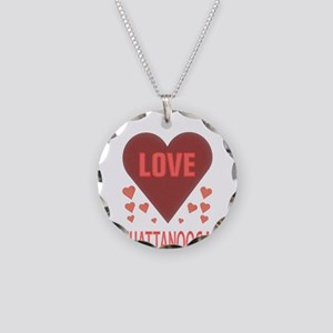 I LOVE CHATTANOOGA TN Necklace Circle Charm