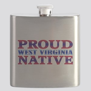 West Virginia Native WV Flask