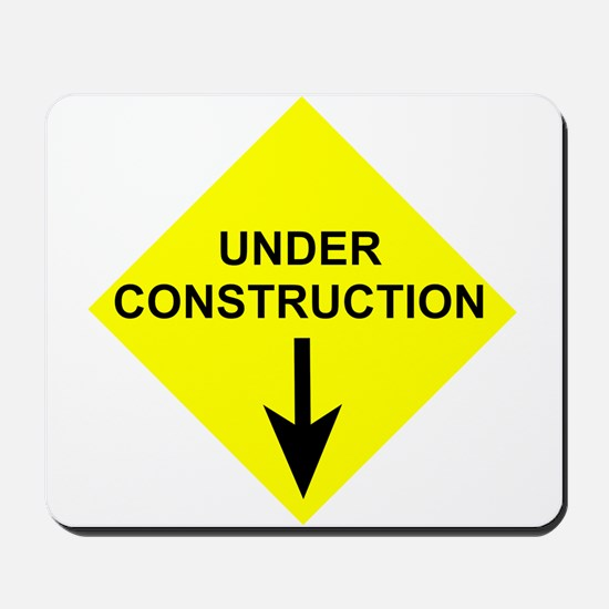 Under Construction Mousepad