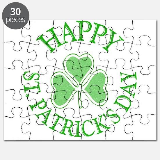 Shamrock St. Patrick's Day Puzzle