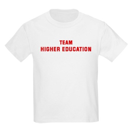Team HIGHER EDUCATION Kids Light T-Shirt