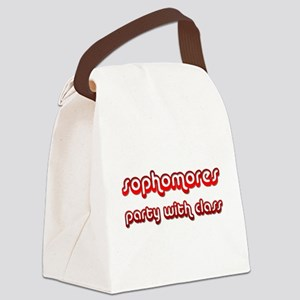 Sophomores Party With Class Canvas Lunch Bag