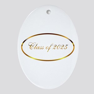 Class of 2025 Ornament (Oval)