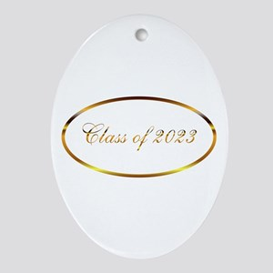Class of 2023 Ornament (Oval)