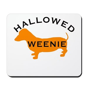 dachshund halloween mouse pads cafepress
