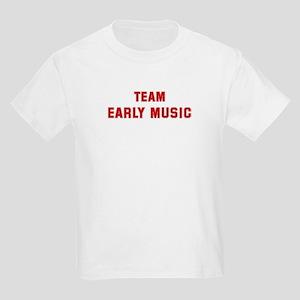 Team EARLY MUSIC Kids Light T-Shirt