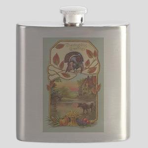 Thanksgiving Greetings Flask