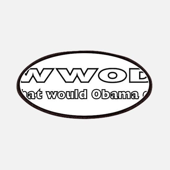 Barack Obama WWOD Patches
