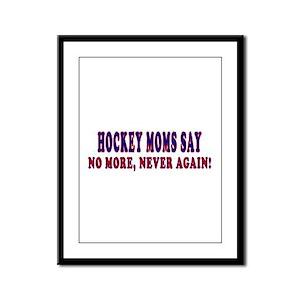 Palin Hockey Moms Framed Panel Print