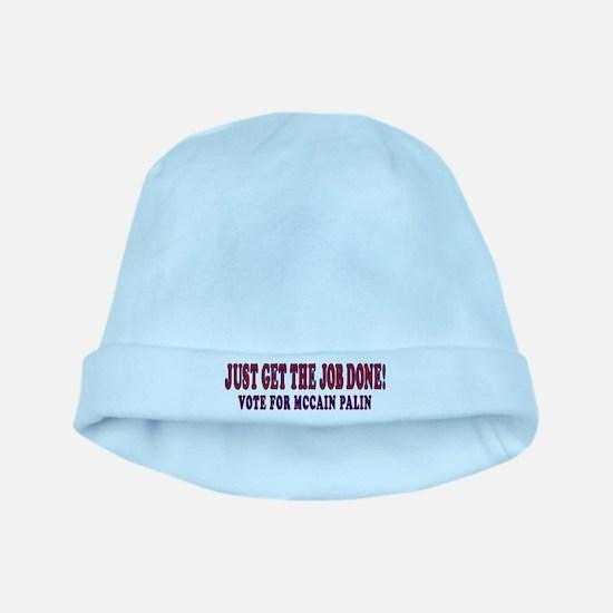 Mccain Palin Get the Job Done baby hat