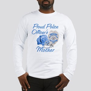 Blue Rose Police Mother Long Sleeve T-Shirt