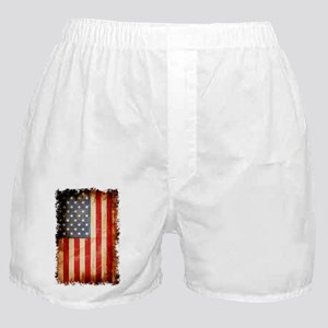 Distressed American flag Boxer Shorts