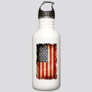 Distressed American fl Stainless Water Bottle 1.0L