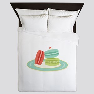French Macarons Queen Duvet