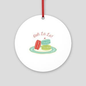 Ooh la la! Ornament (Round)