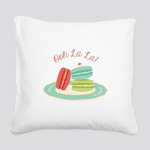 Ooh la la! Square Canvas Pillow