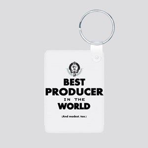 Best Producer in the World Keychains