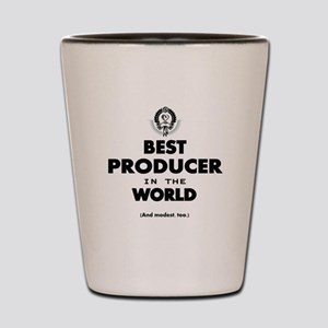 Best Producer in the World Shot Glass