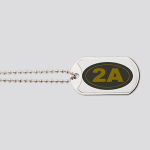 2A Second Amendment Patch Dog Tags