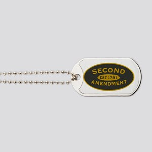 Second Amendment Dog Tags