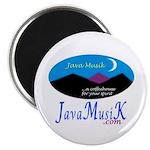 "JavaMusiK 2.25"" Magnet (100 pack)"