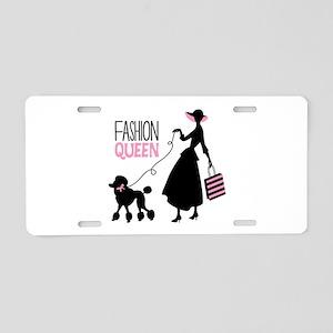 Fashion Queen Aluminum License Plate